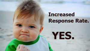 Increased Email Response
